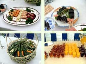 園遊会料理