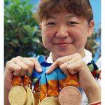 成田真由美(水泳)の年齢と金メダル数がやばい!結婚した旦那と子供は?